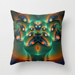 Yonitation Throw Pillow