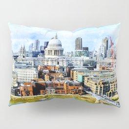 st-paul-s-london-millenium-bridge Pillow Sham