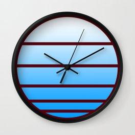 Retro Circle 02 Wall Clock