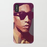 hip hop iPhone & iPod Cases featuring Hip hop poly by Breno Bitencourt
