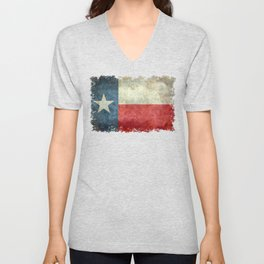 Texas flag Unisex V-Neck