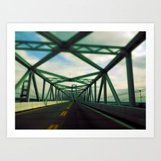 Bridges do so many thing (in Color) Art Print