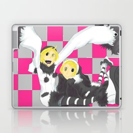 Loki and Noki (BW) Laptop & iPad Skin