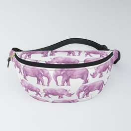 Safari Pattern #7 - PINK Fanny Pack