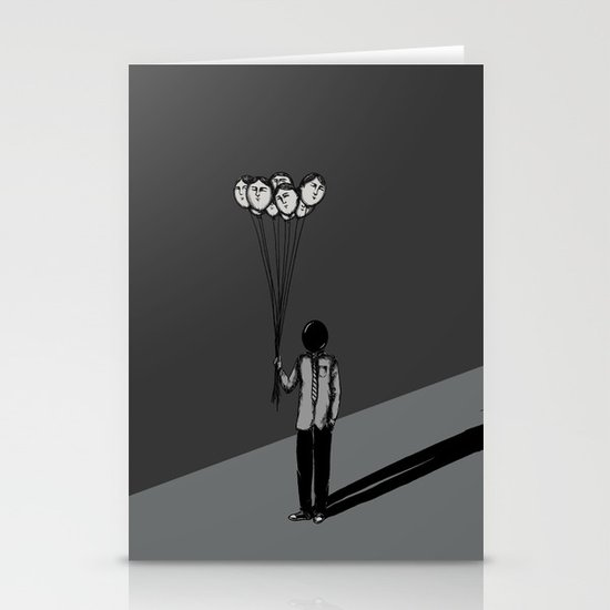 The Black Balloon Stationery Cards