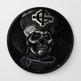 Ghost // Papa Emeritus Wall Clock