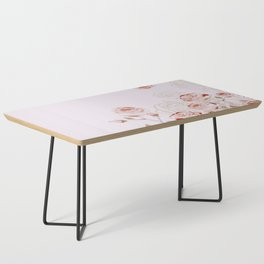 FRENCH PALE ROSES Coffee Table