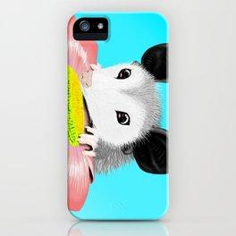 Blossom the Opossum iPhone Case