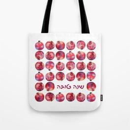 'Shanah Tovah' Hebrew Wishes for Rosh HaShanah Holidays Tote Bag