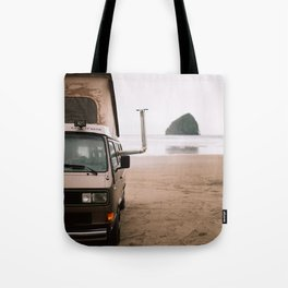 Cape Kiwanda Beach Westfalia Tote Bag