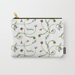 NZ Foliage - White Carry-All Pouch