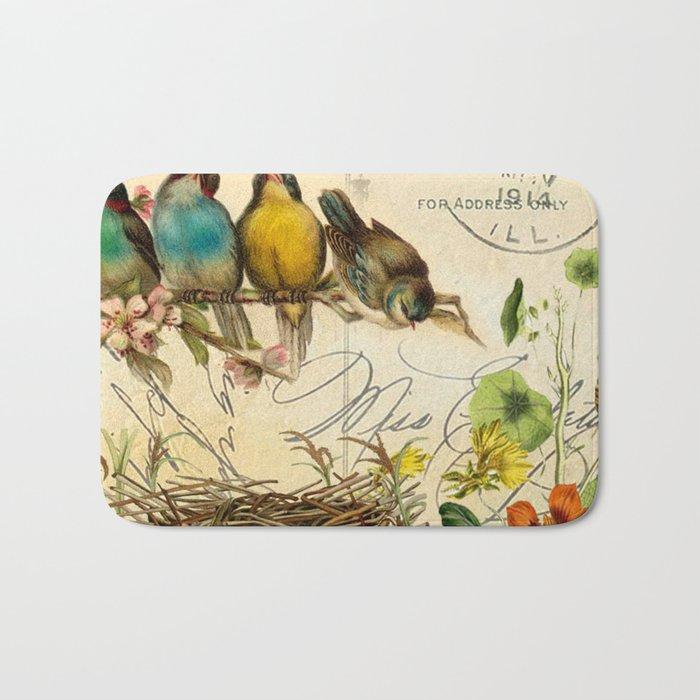 Sweet birds #5 Bath Mat