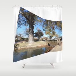 Northeastern State University - Hendricks Spring, No. 11 Shower Curtain