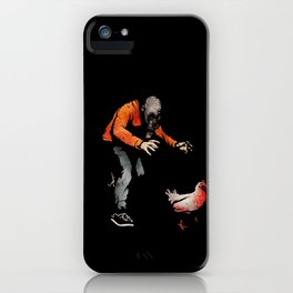 Leroy VS The Zombie Chicken iPhone Case