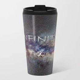 INFINITY STARS IN THE MILKY WAY ∞ Metal Travel Mug