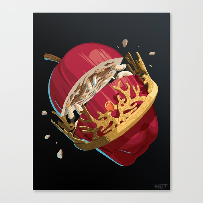 The Rotten King - WORDLESS Canvas Print