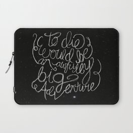 Peter Pan Quote Laptop Sleeve