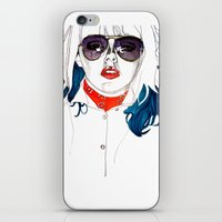 kate bishop iPhone & iPod Skins featuring Kate  by Jessica Tobin