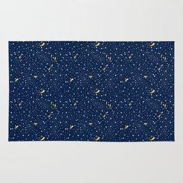 Stars and Comets Rug