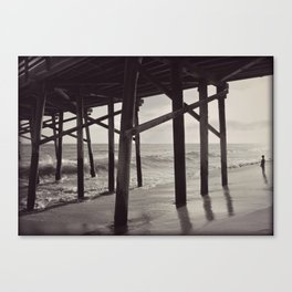 I sea thoughts Canvas Print