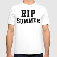 RIP Summer White SMALL Mens Fitted Tee
