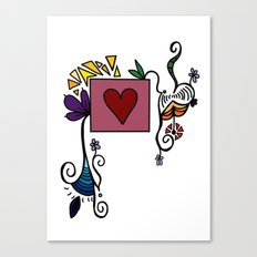 Love Grows, Baby Canvas Print