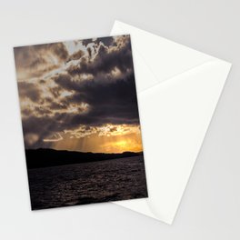 Dramatic change in the weather Stationery Cards