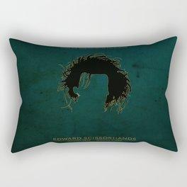 Edward Scissorhands Poster Rectangular Pillow