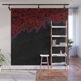 Bleeding Pixels 2 Wall Mural