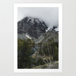 Alpine Lake in Washington Art Print