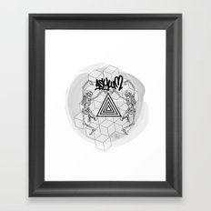 Asylum Framed Art Print