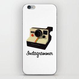 instagrammer iPhone Skin