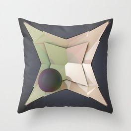 Graphic Image Throw Pillow