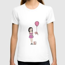 The cat balloon T-shirt