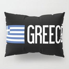 Greece: Greek Flag & Greece Pillow Sham