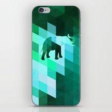 Emerald Elephant iPhone & iPod Skin