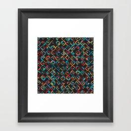 Semi Circ 2 Framed Art Print