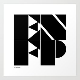 Type Type for ENFP Art Print