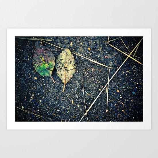 leaf you Art Print