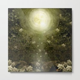 The Great Lie, Forest Metal Print