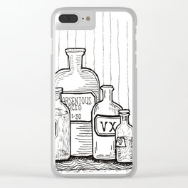 Poison Clear iPhone Case