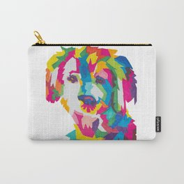 Colorful Dog Design Carry-All Pouch