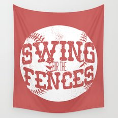 Batter Up! Wall Tapestry