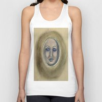sleep Tank Tops featuring Sleep by Jen Hallbrown