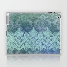ABERDEEN HEIRLOOM, LACE & DAMASK: TRENDY TEAL Laptop & iPad Skin