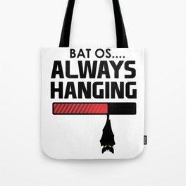 Bat OS for Halloween for Computer Software Geek Light Tote Bag