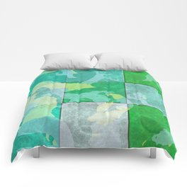 Tiled abstract Comforters