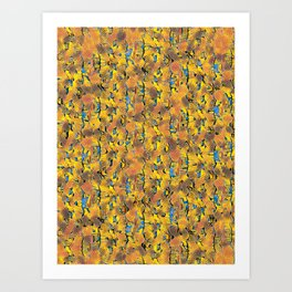 Guy Fawkes Night. Art Print