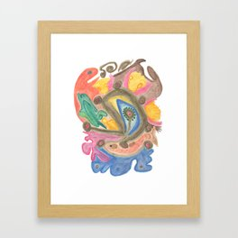 Drawing #120 Framed Art Print