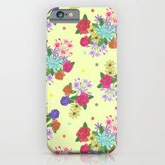 Flowers [yellow] iPhone 6s Slim Case